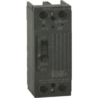 GE 200A Double-Pole Standard Trip Main Breaker