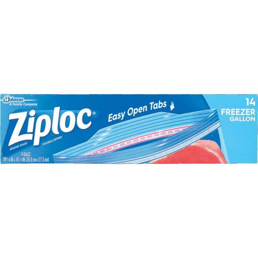Ziploc 1 Gal. Double Zipper Freezer Bag (14 Count)