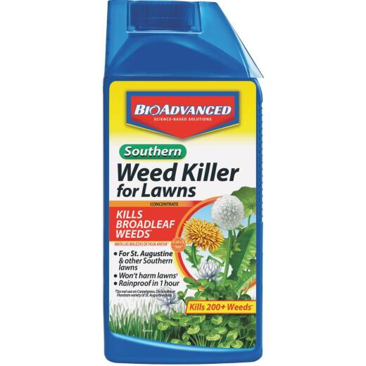 BioAdvanced 32 Oz. Concentrate Southern Weed Killer For Lawns