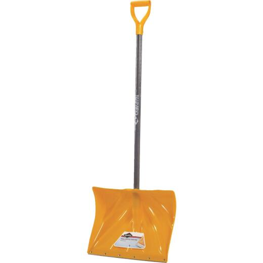 Garant Alpine 18 In. Poly Snow Shovel with 42.25 In. Wood Handle