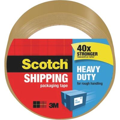 3M Scotch 1.88 In. X 54.6 Yd. High Performance Tan Packaging Tape